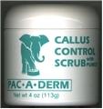 Pac-a-Derm Callus Control Scrub