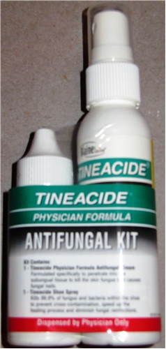 Tineacide ™ Antifungal Kit for Foot Fungus